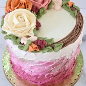 framboise (raspberry) cake