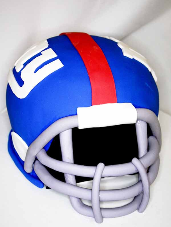 giants football helmet cake bakery nj
