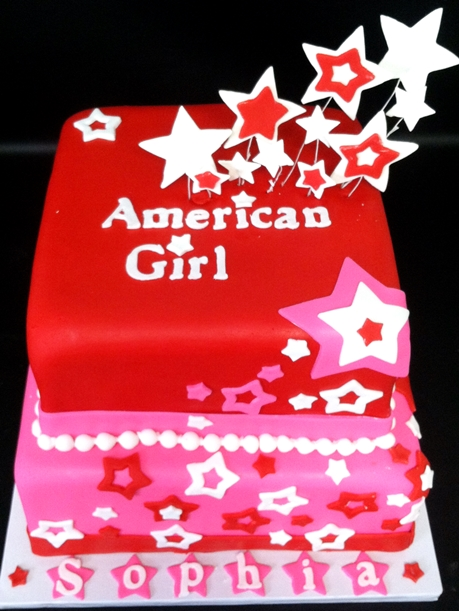 american girl custom specialty cake