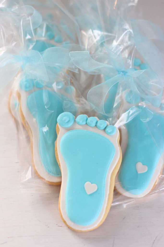 Custom baby shower cookies from bakery serving sussex and morris county nj
