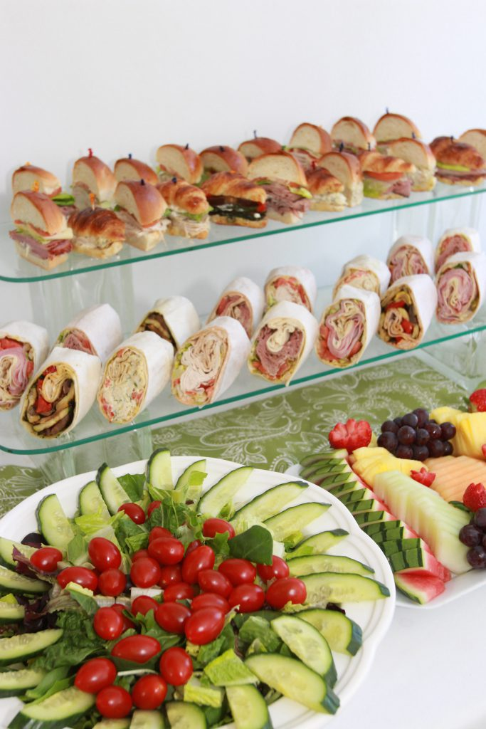 bridal shower catering