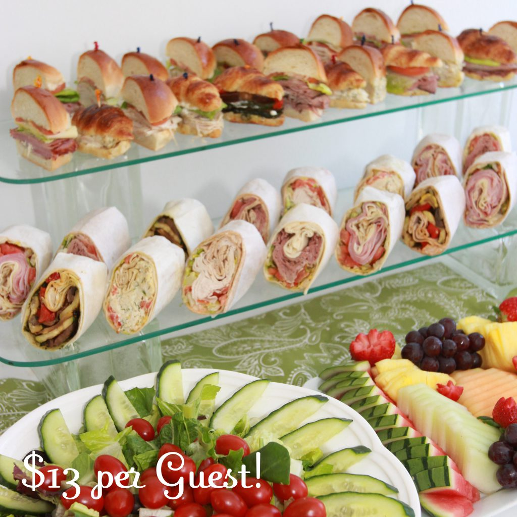 communion christening baptism luncheon catering