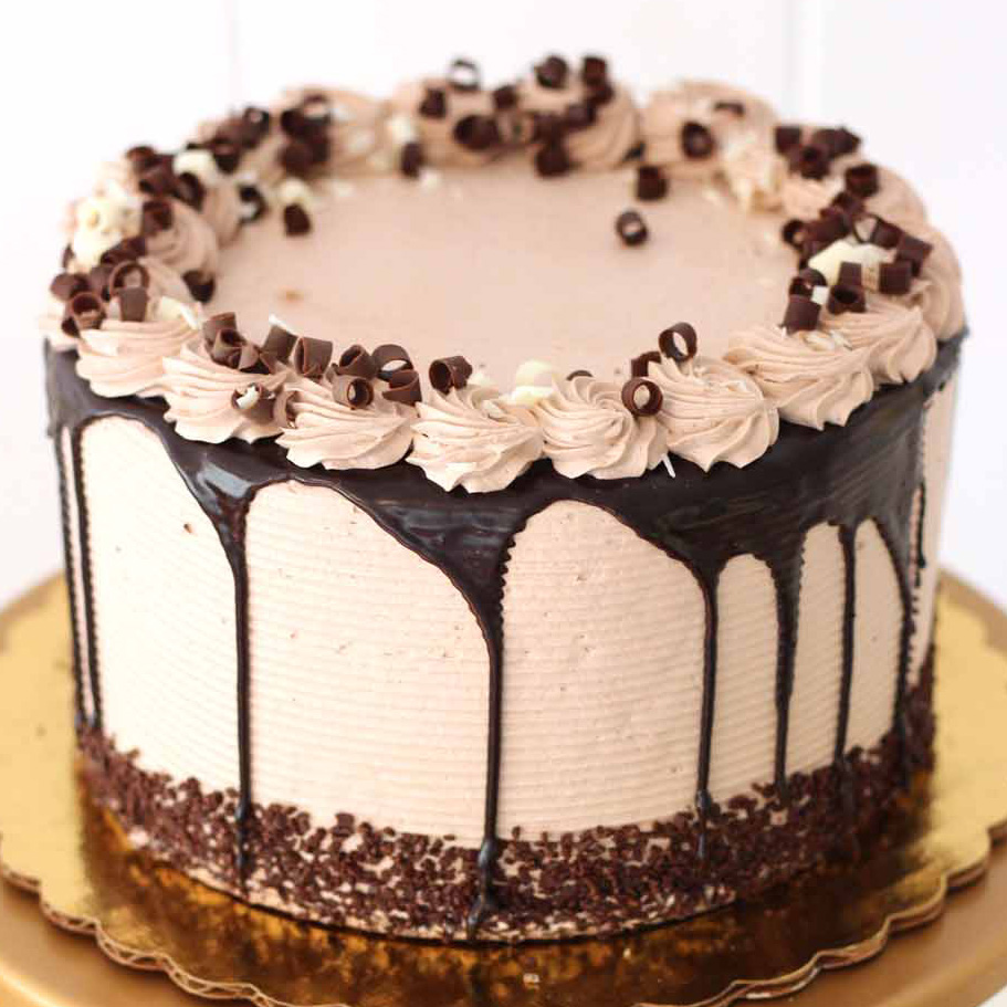 Pierrot Cake with Chocolate Shavings from French Bakery in NJ