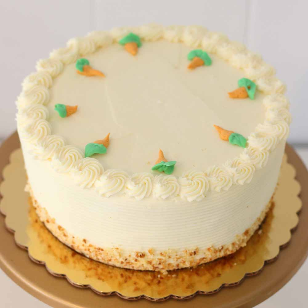 Carrot Cake from French Bakery in North Jersey